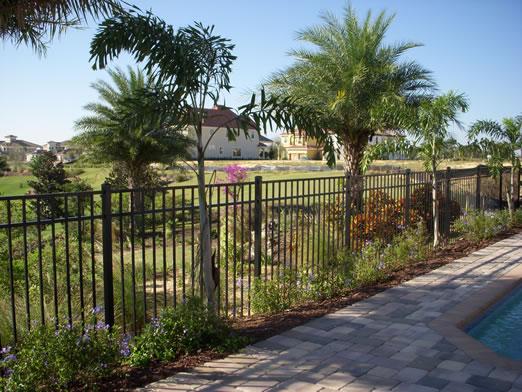 Orlando Aluminum Ornamental Fence Company Orange County