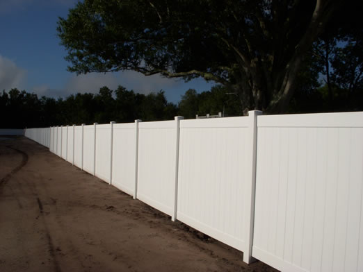 Orlando Vinyl Pvc Fence Company Orange County Florida