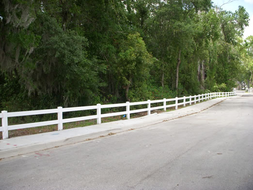 types of fences u003e vinyl pvc fence